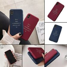 English AlphabetPhone Case Cover for iPhone X XS XR XSMAX 6Plus 7 8 7Plus 8Plus