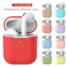 Earphone Case For Apple AirPods 2 Silicone Wireless Bluetooth Protective Box