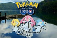 Pokemon Go Lake Trio Catching Service - Uxie, Mesprit, and Azelf — PRE ORDER NOW