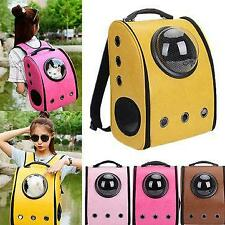 Dog Cat Pet Astronaut Capsule Backpack Carrier Box With Transparent Breathable C