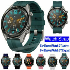 For Huawei Watch GT Elegant Active 2 Classic Silicone Bracelet Strap Watch Band