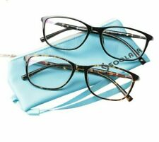 Full Frame Clear Lens Eyeglasses Oversized TR90 Reading Glasses Premium