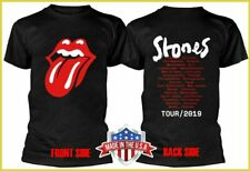 Rolling Stones New Dates - No Filter - Tour 2019 T-shirt Black Tee S-6XL