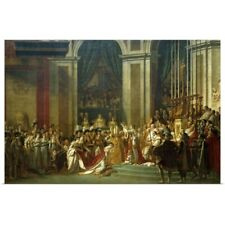 Art Print//Poster 480 BC 3589 Jacques Louis David: Leonidas at Thermopylae