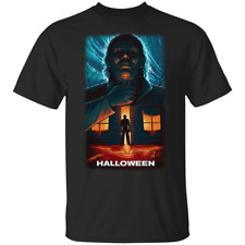 Michael Myers Halloween Horror T-Shirt Michael Myers Tee Shirt Short Sleeve S...