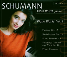 Schumann - Piano Works, Vol 1, Robert Schumann, Good Box set