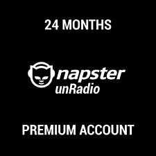NAPSTER UNRADIO SUBSCRIPTION / 24 MONTHS / INSTANT DELIVERY / WORLDWIDE