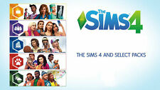 The Sims 4 All Expansion Packs Bundle Origin Global PC MAC New PAL Free UK P&P