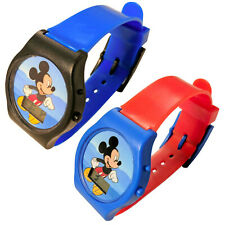 Mickey Mouse Digital LCD Wrist Watch Kids Adjustable Strap (2 Colors)