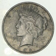 Early - 1923 - Peace Silver Dollar - 90% US Coin *153