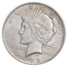 Choice AU/UNC 1922 Peace Silver Dollar - 90% Silver *361