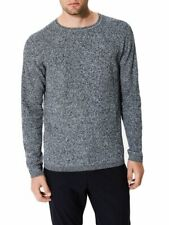 Pull chiné col rond Homme Gris