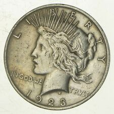Early - 1923 - Peace Silver Dollar - 90% US Coin *853