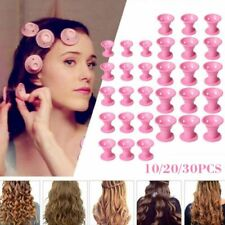 Diy Magic Silicone Hair Curlers 30x No Heat Styling Formers Curling Rollers Tool