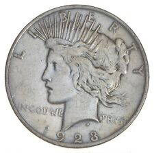 Early - 1923 - Peace Silver Dollar - 90% US Coin *373