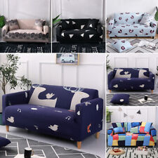 1-4 Seater Universal Couch Lounge Protector Slipcovers High Stretch Sofa Covers