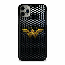 NEW DESIGN WONDER WOMAN LOGO Print On Hard Cover Case For iPhone and Samsung