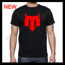 MOLOTOV MEXICO BAND M RED DESIGN  BLACK T-SHIRT  100% COTTON NEW T-SHIRT S-XL