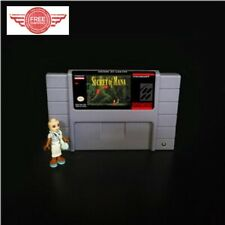 Secret of Mana 16 bit SNES Video Game US Version FREE SHIPPING NTSC Battery Save