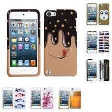 Apple iPod Touch 5th Gen Hard Phone Case Design Cute Plastic Cover