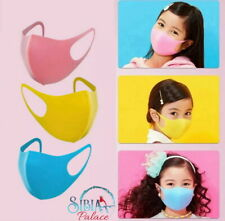 AU STOCK Kids Breathable Washable Anti Flu Dust Haze Face Cover Mouth Nose Cover