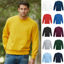 1a Herren Sweatshirt Pullover Pulli Fruit of the loom Classic Set-In Sweat 80/20