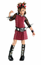 Riot Grrrl Girl Drama Queens Punk Gothic Dress Up Halloween Child Costume