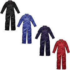 MENS DICKIES REDHAWK ZIP FRONT COVERALL OVERALLS BOILERSUIT WD4839 ALL SIZES
