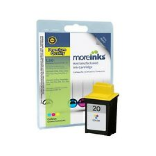 Remanufactured No.20 Tri-Colour Ink Cartridge for Lexmark X82 Printer & more
