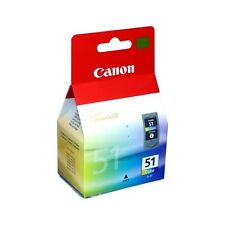 Genuine Canon CL-51 High Capacity Tri-Colour Ink Cartridge 0618B001 for Printers