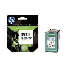 Genuine HP 351XL Tri-Colour Ink Cartridge CB338EE for Printers inc C4488 & more