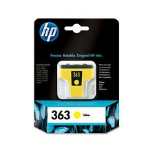 Genuine HP 363 Yellow Printer Ink Cartridge C8773EE for Photosmart C5170 & more