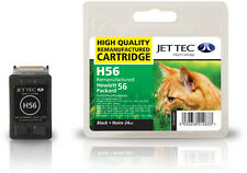 Remanufactured Jettec HP56 Black Printer Ink Cartridge for Photosmart 7700 &more