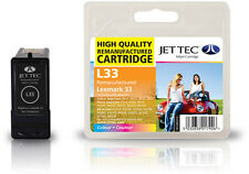 Remanufactured Jettec L33 Tri-Colour Ink Cartridge for Lexmark Printers