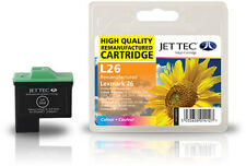 Remanufactured Jettec L26 Colour Printer Ink Cartridge for Lexmark Z35 & more