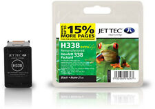 Remanufactured Jettec HP338 Black Ink Cartridge for Officejet 7408 & more