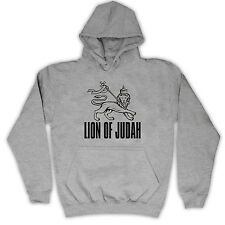 LION OF JUDAH RASTAFARIAN RELIGOUS ICON KIDS HOODED TOP HOODIE ALL COLS & SIZES