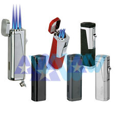 Vector KGM Urbano Triple Flame Torch Lighter Butane w/ Cigar Punch - All Colors