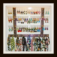 "MINI Glitzy Girl Earring Holder & Jewelry Organizer/Rack ""PICK A FABRIC"""