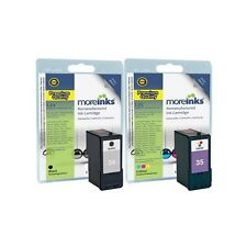 2 Remanufactured No.34 / 35 Ink Cartridges for Lexmark F4350 Printer & more