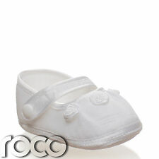 Baby Girls Christening Shoes, Baby Girls White Shoes, Girls Christening Gift