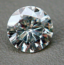 Round Brilliant Faceted Genuine Moissanite Created by Charles & Colvard (1-5mm)