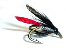 3x or 6x  BUTCHER  (WFD20)  WEE DOUBLE Trout, Sea Trout & Salmon Flies
