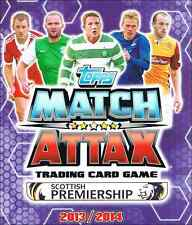 Match Attax SPL Scottish Premiership 2013/2014 13/14: Limited Edition Cards
