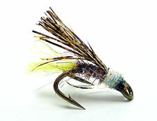3x or 6x  FRECKLEFLASH VIVA (SCOT49) WEE DOUBLE Trout, Sea Trout & Salmon Flies
