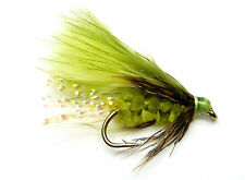 3x, 6x or 12x Fly Fishing Trout Flies (SCOT92) THE OLIVER MINI-LURE Trout Fly