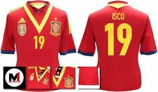 *13 / 14 - ADIDAS ; SPAIN HOME SHIRT SS / ISCO 19 = SIZE*
