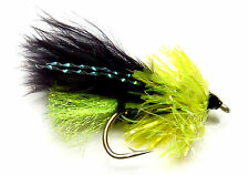 3x, 6x or 12x Fly Fishing Trout Flies (NFG12) FRITZ VIVA GLITTERHEAD Trout Fly