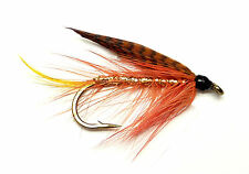 3x, 6x or 12x Fly Fishing Trout Flies (STWF17)  DUNKELD Sea Trout Fly