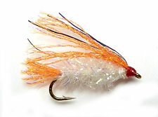 3x, 6x or 12x Fly Fishing Trout Flies (TM17) SPARKLE CORAL FRITZ LURE Trout Fly